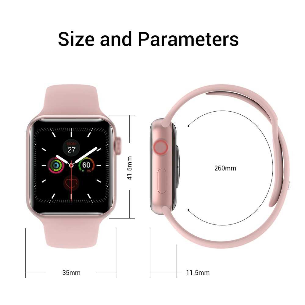 V10 Intelligent Watch 1.3in Color Screen Full Touching Sport Fitness Tracker IP67 Waterproof Heart Rate Immunity Monito