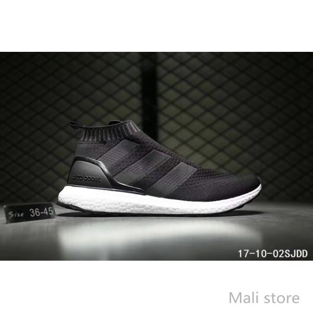abea60b9 🌟Ready Stock🌟Adidas Ace 16+ Purecontrol Boost Midcut real boost causal  runner.