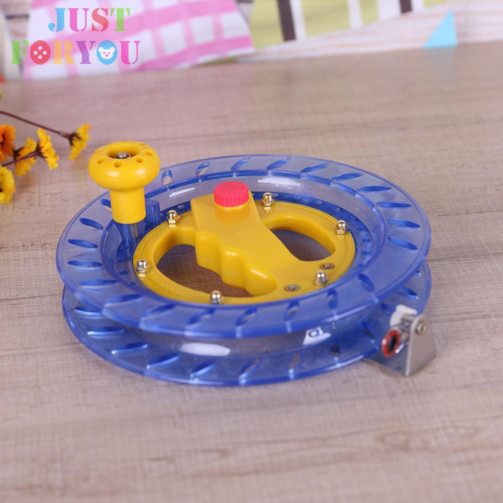 Plastic Kite Ball Reel Wheel Winder Tool Handle Twisted String Line Accessories