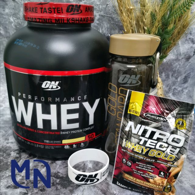 WHEY 4LBS (LEAN MUSCLE/ MUSCLE BUILDING