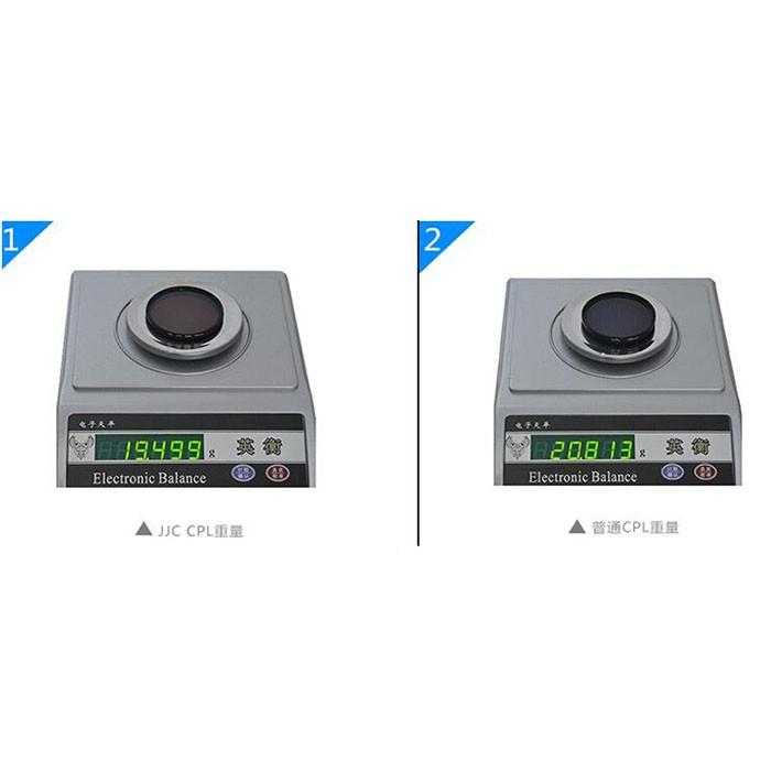 JJC F-CPL52 CPL Circular Polarizer Filter Ultra Slim 52mm for Camera DSLR Lens