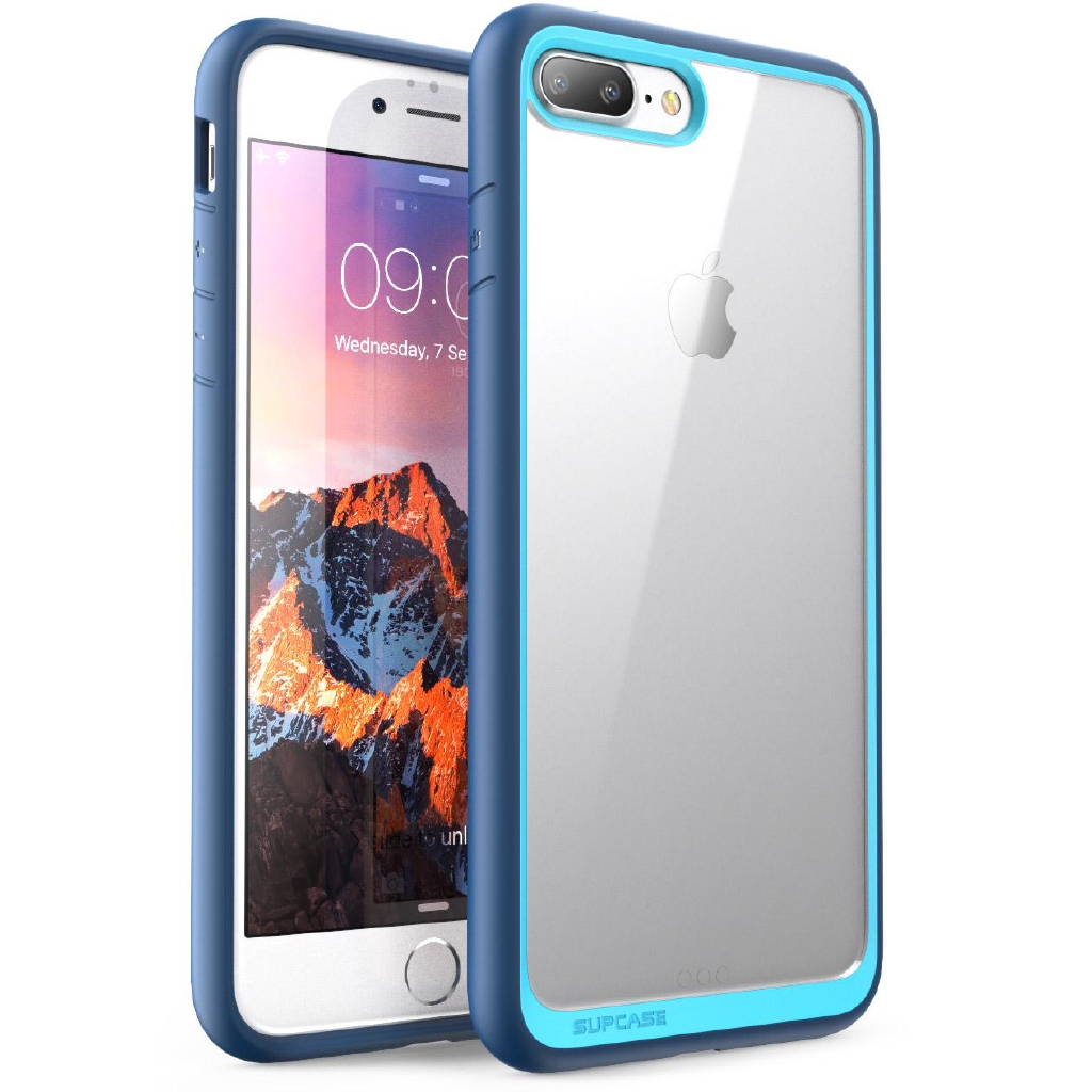 new style 4e299 adb24 For iPhone 7 Plus 8 Plus Case SUPCASE Shockproof Protective Clear Case Cover