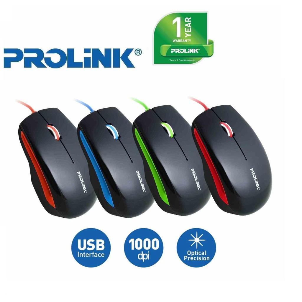 Prolink Artist Collection Usb Optical Mouse Pmc1005 Shopee Malaysia Logitech B100