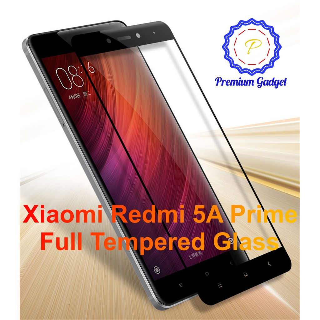 Xiaomi Redmi Note 5a Prime Full Covered Tempered Glass Shopee Malaysia Resmi Tam