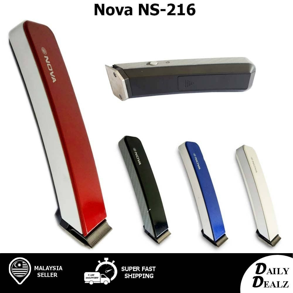 NOVA NS-216 HAIR TRIMMER CUTTER SHAVER CLIPPER PROFESSIONAL RECHARGEABLE