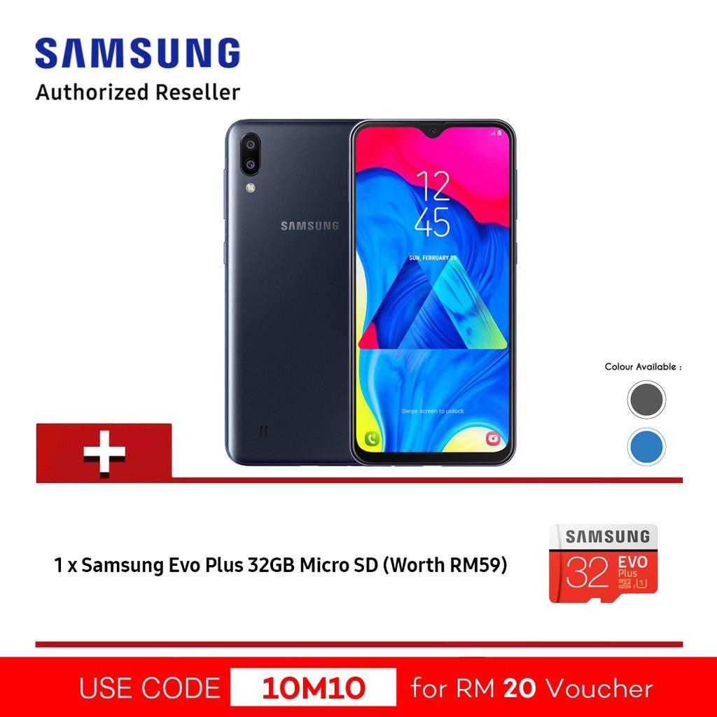 Samsung Galaxy M10 即日起透过网络渠道发售,售价RM449 2
