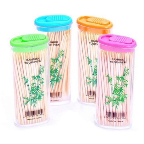 Bamboo Toothpick Lighter Tube Lighters Model toothpick Double-Side Sharp Toothpick 1 TUBE