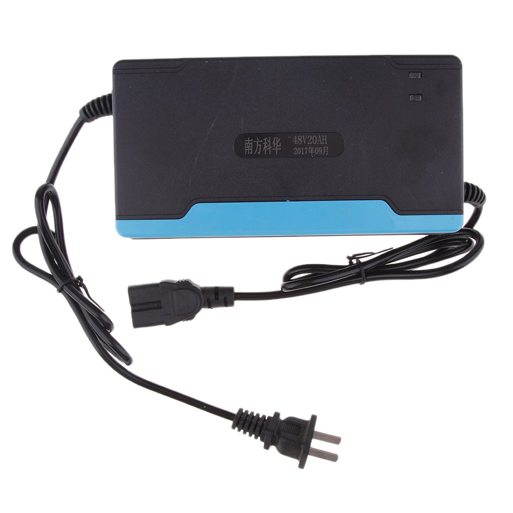 New 48V 2.5Amp Battery PC Plug Charger For Electric Bike Scooters