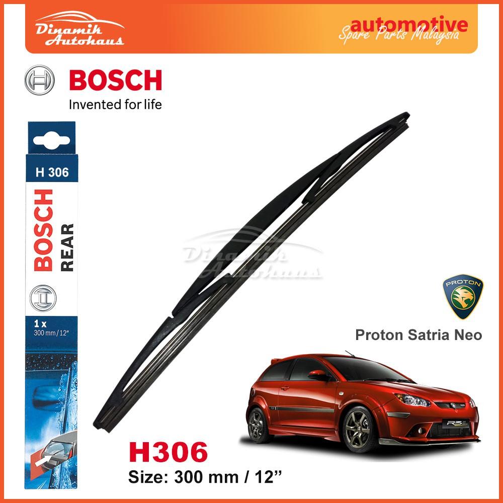 X AUTOHAUX Car Automotive 300mm Window Windshield Rear Wiper Blade