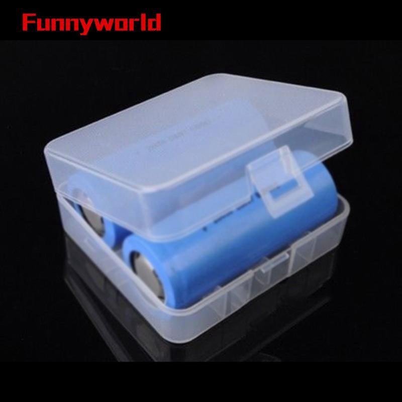 Case Plastic Battery Storage Box Holder For AA AAA 18650//21700//26650 AAA-AA AA