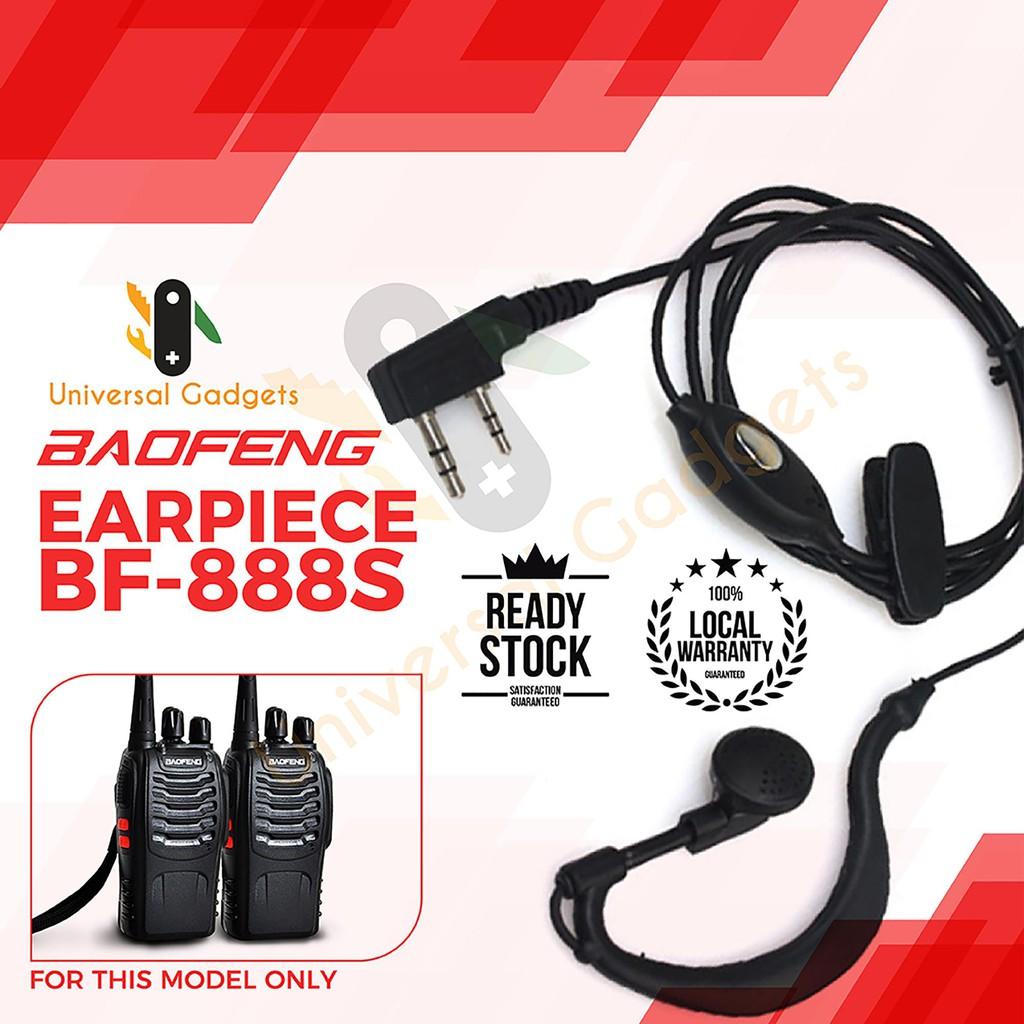 Baofeng Earpiece Hands free for Baofeng Model UV5R / BF888s EP002