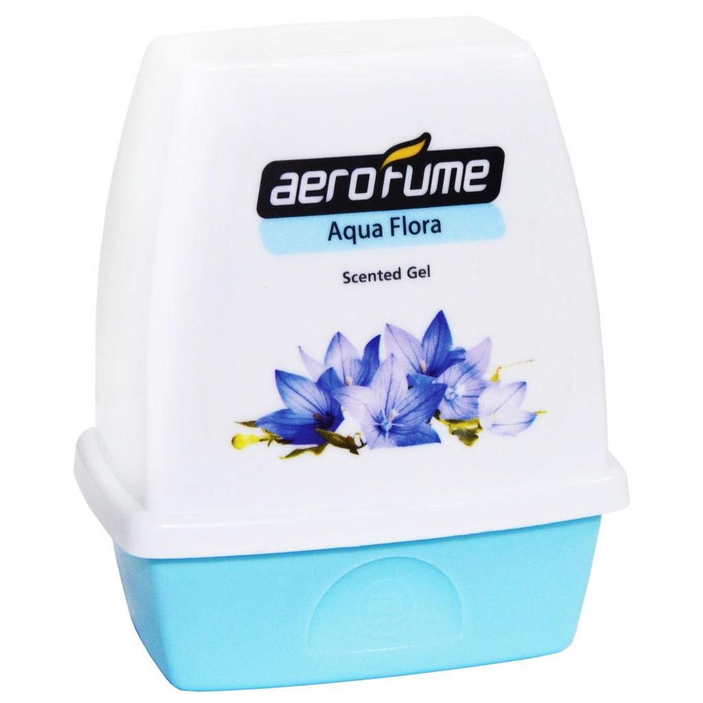 Aerofume Scented Gel Series Air Freshener (Aqua Flora) Pewangi Tandas Toilet Perfume Air Freshener
