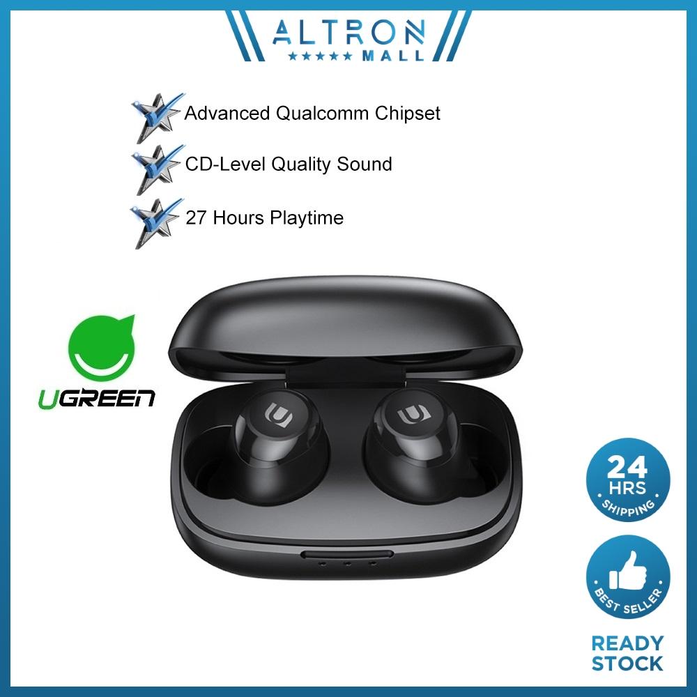 UGREEN HiTune aptX Bluetooth Earphones TWS Earbuds True Wireless Stereo Wireless Earbud Bluetooths 5.0 IPX5 Waterproof