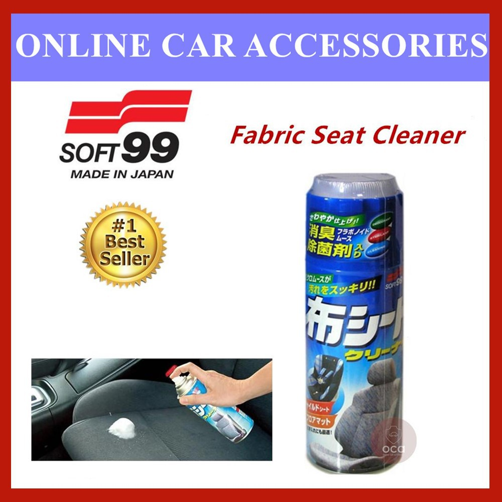 (Free Gift) Soft 99 New Fabric Seat Cleaner - 420ml