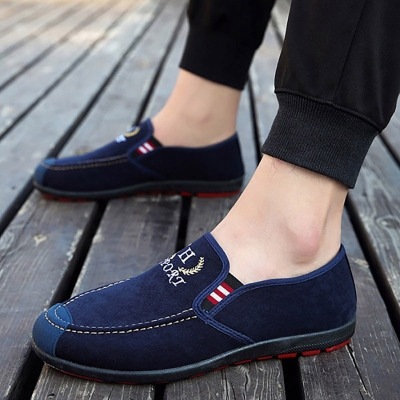 New Men's Casual Pedals Comfortable Lazy Driving Shoes