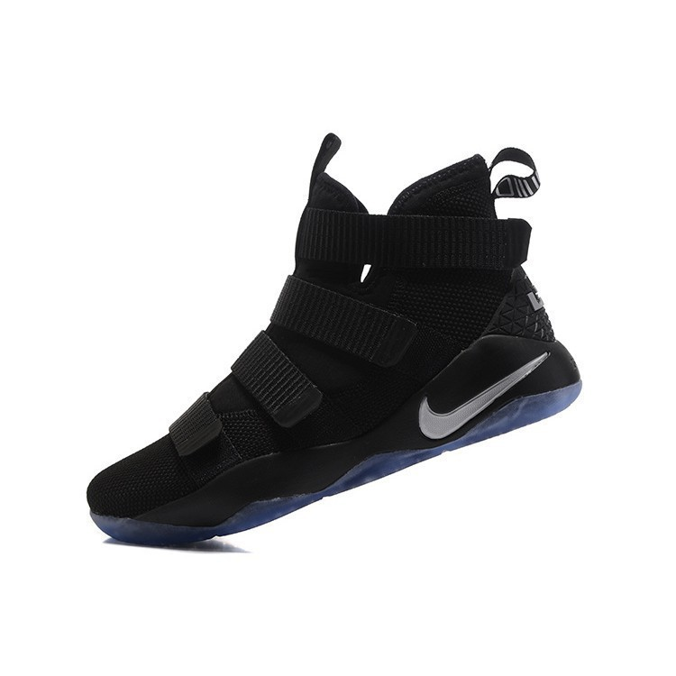 the latest c10be 8366c Nike Lebron James Soldier XI Basketball Shoes LBJ11 Basket Sport Sneakers