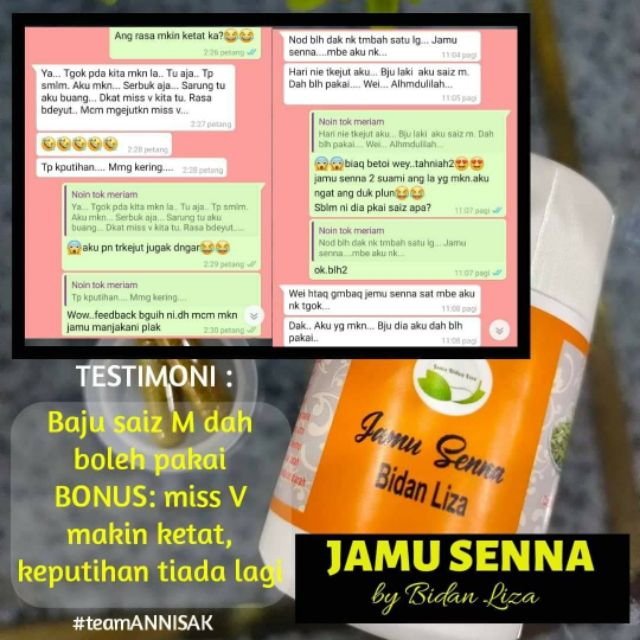 Jamu Senna 🌿 (30 biji) by Bidan Liza