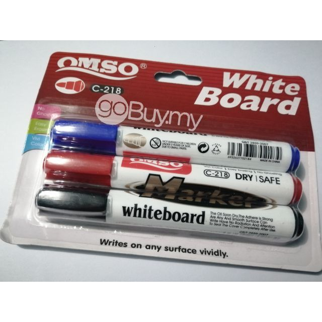3 In 1 Whiteboard Marker Pen