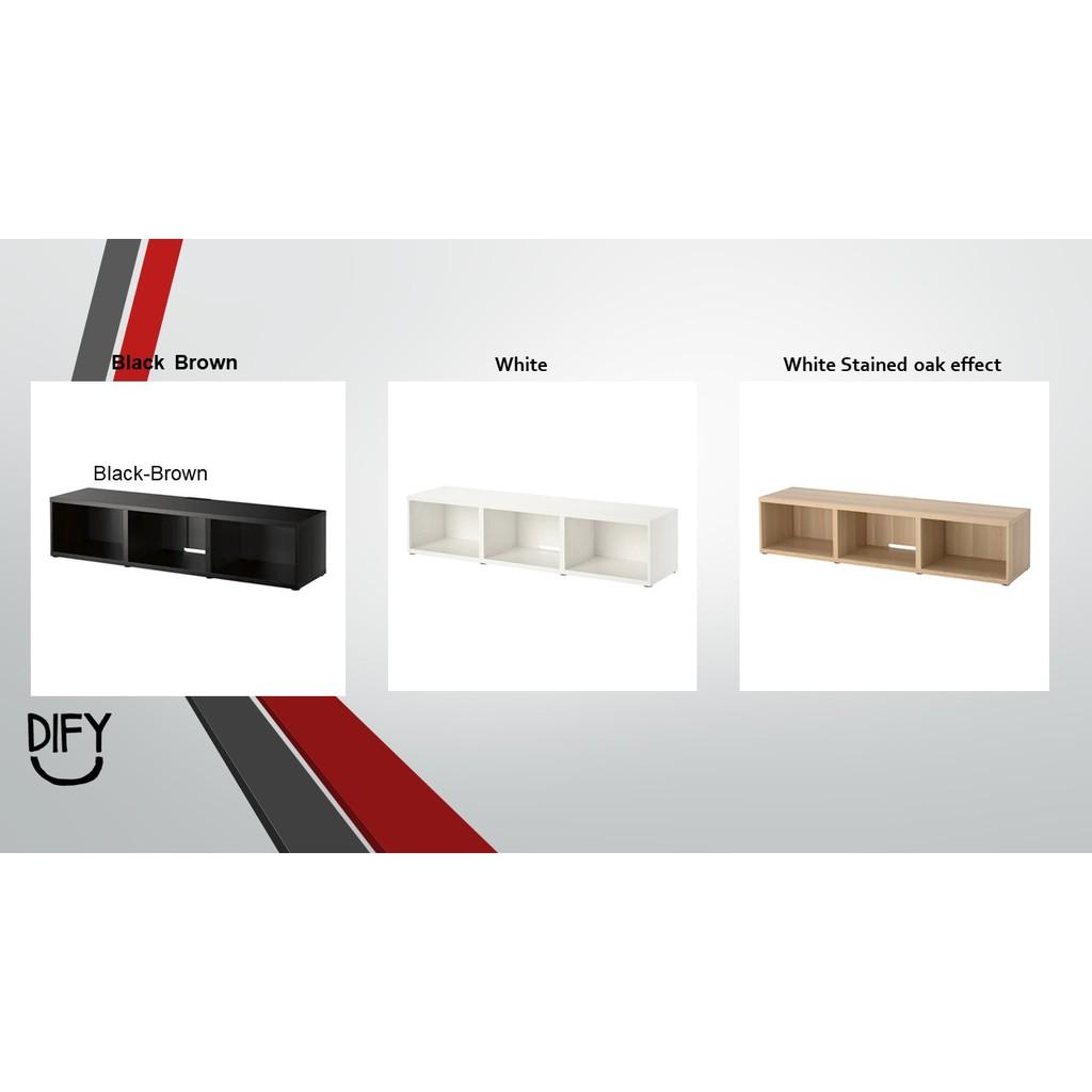 Ready Stock Ikea Besta Tv Bench Size180x40x38cm
