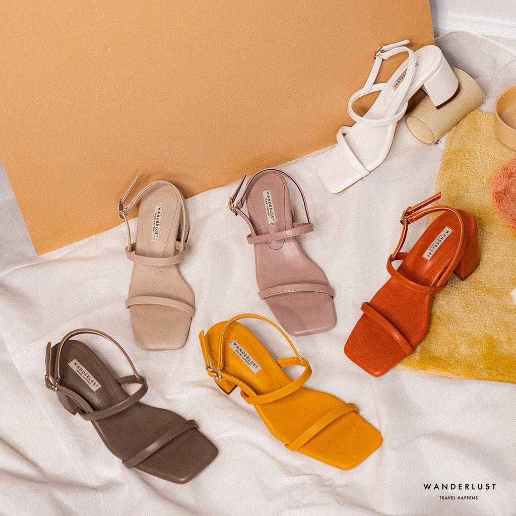 รองเท้าหนัง ส้นสูง Wanderlust รุ่น Kristy Heels Limited Colle