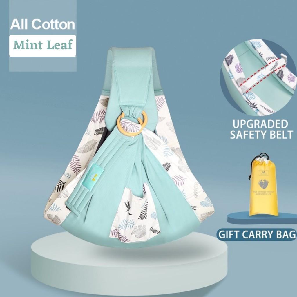 JK HOME Baby Carrier Newborn Nursing Towel Baby Sling Wrap Breathable Baby Carrier Ergonomic