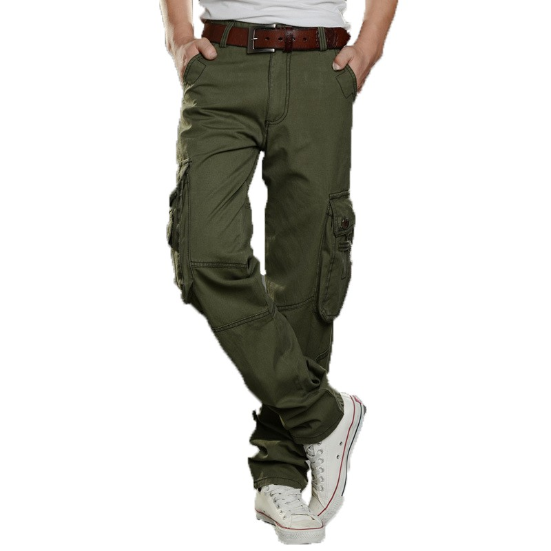 diversified latest designs discount price price reduced GZHOUSE Size 28-38 Mens Cargo Military Pants Fit Combat Trousers