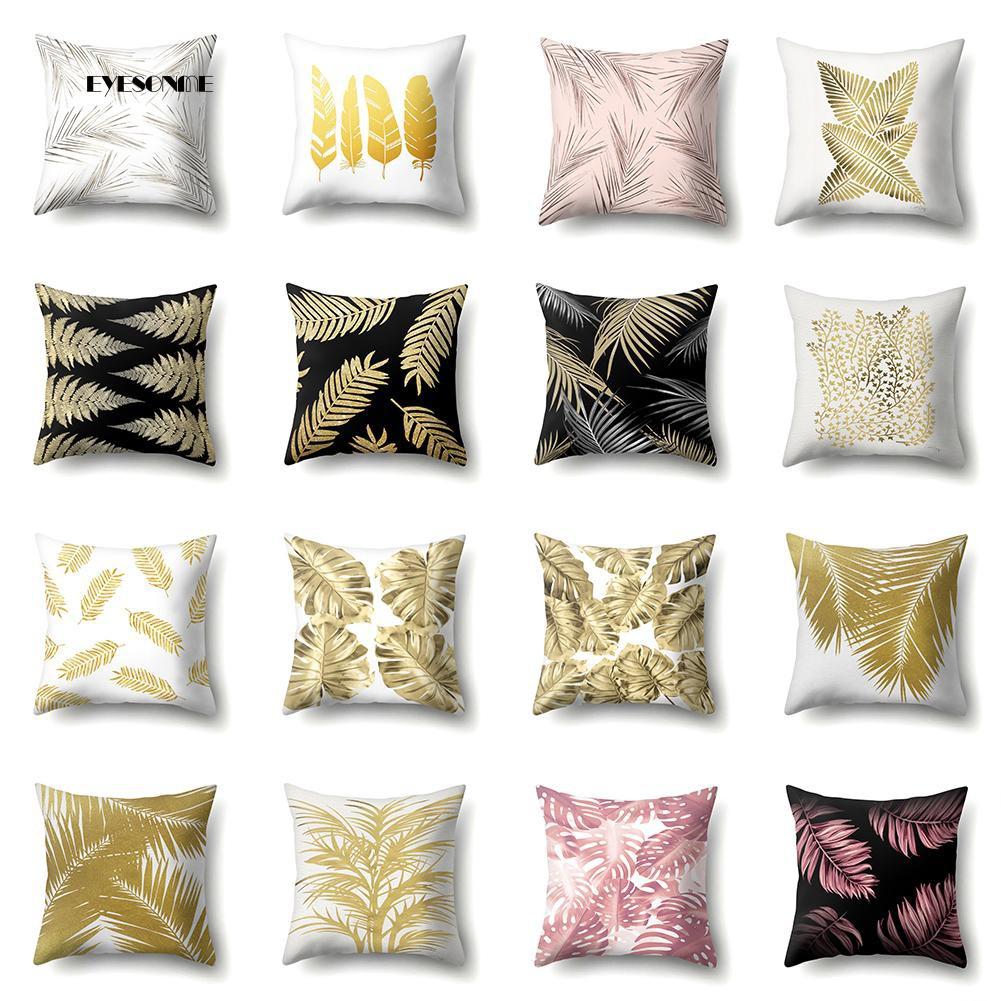 Velvet Pillow Case Waist Throw Cushion Cover Home Office Sofa Chair Bed Decor