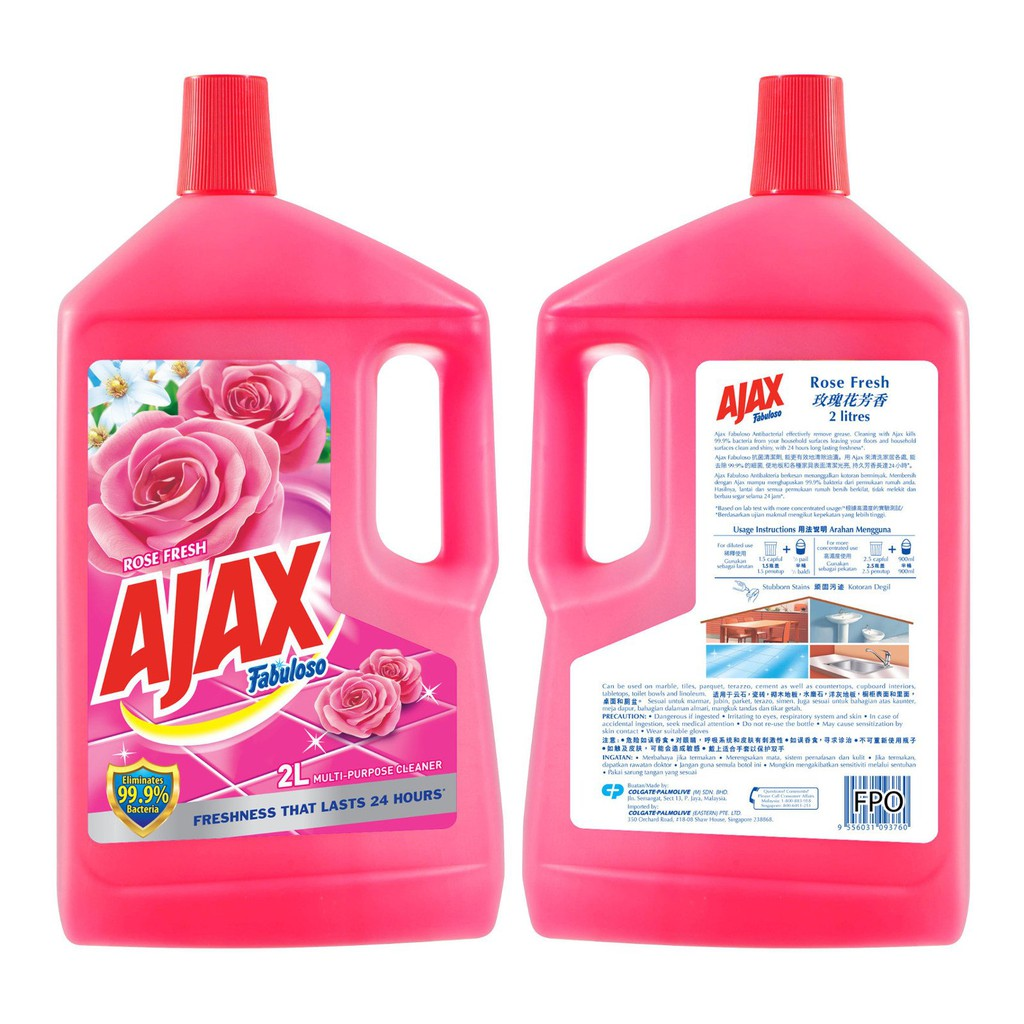 Ajax Fabuloso Rose Fresh (2L)