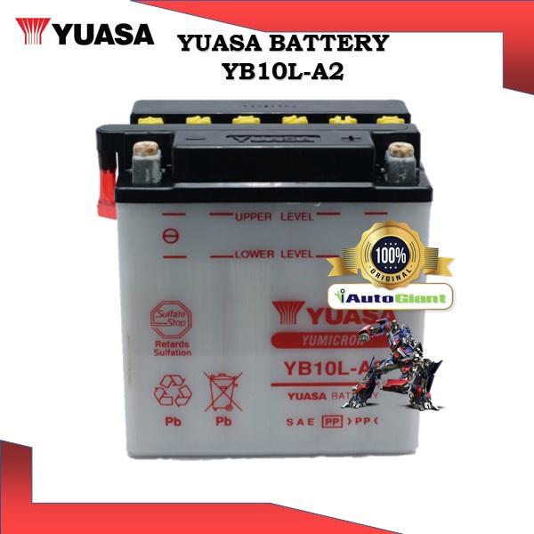 YUASA BATTERY YB 10L-A2 SUZUKI DR650SE/GS500/HONDA SCOOTER CH150 ELITE/YAMAHA XC200 RIVA