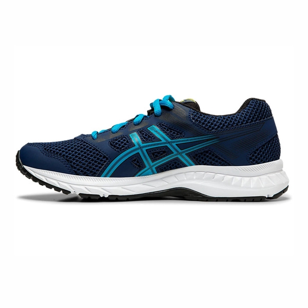 Blue ASICS Gel-Contend 5 Big Kid Casual Running  Shoes Girls
