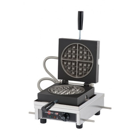 Krampouz - Electric Waffle Makers, Round, 180 deg
