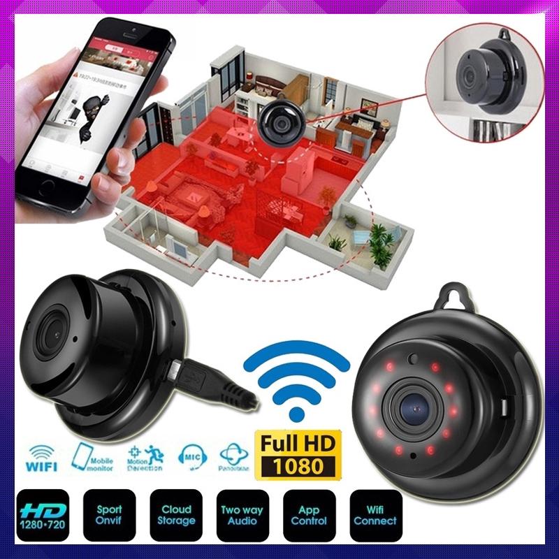 [Ready][COD]1080P WIFI HD Camera Micro Security Surveillance Anti-theft  Camera CCTV