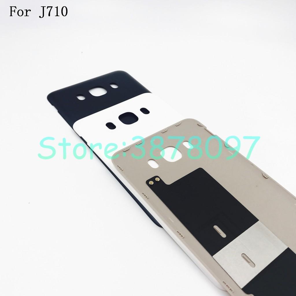 For Samsung Galaxy J7 2016 J710 J710F Back Cover Case Battery Rear Door  Housing
