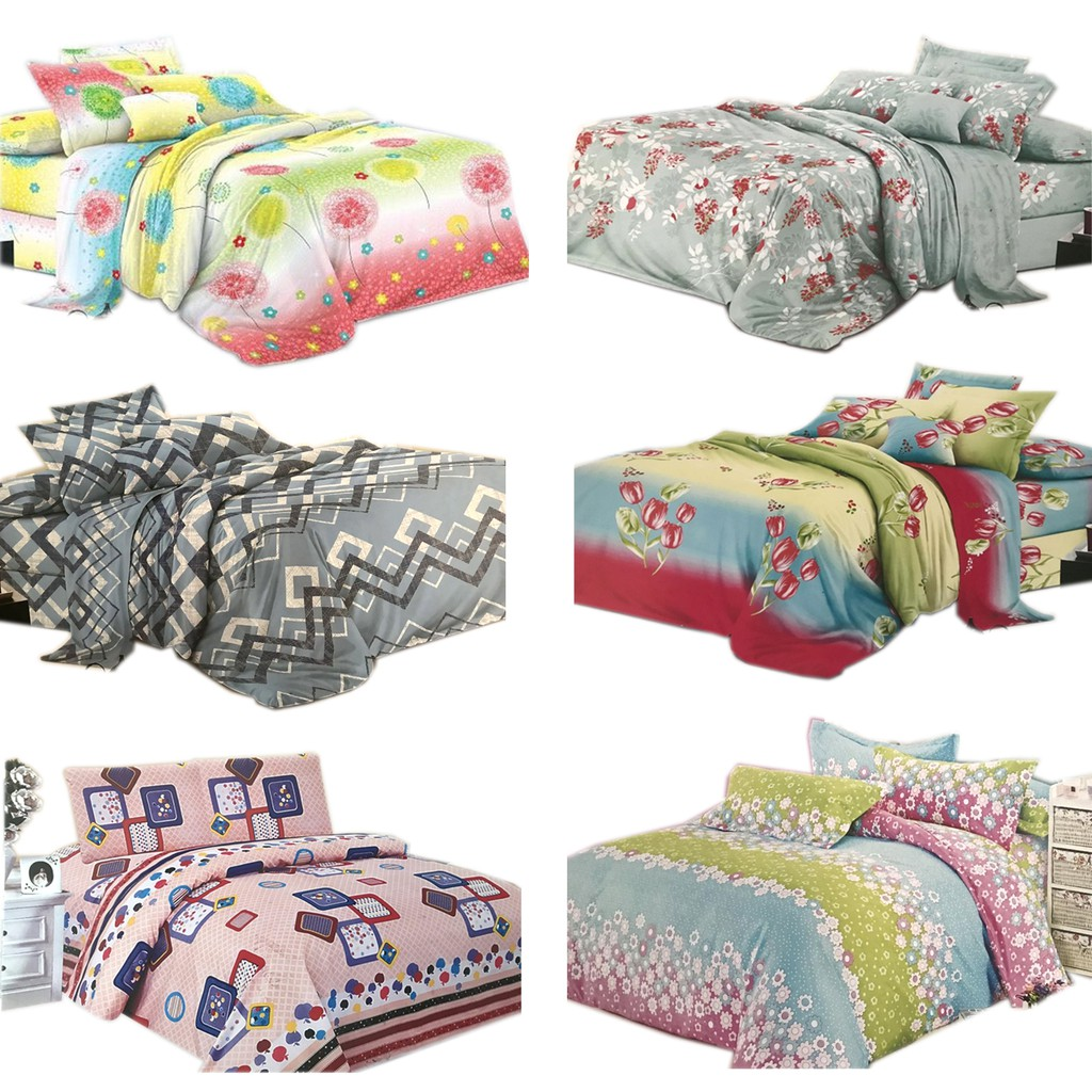 Hailey Collection Queen Size Fitted Bedding Set (3 in 1)