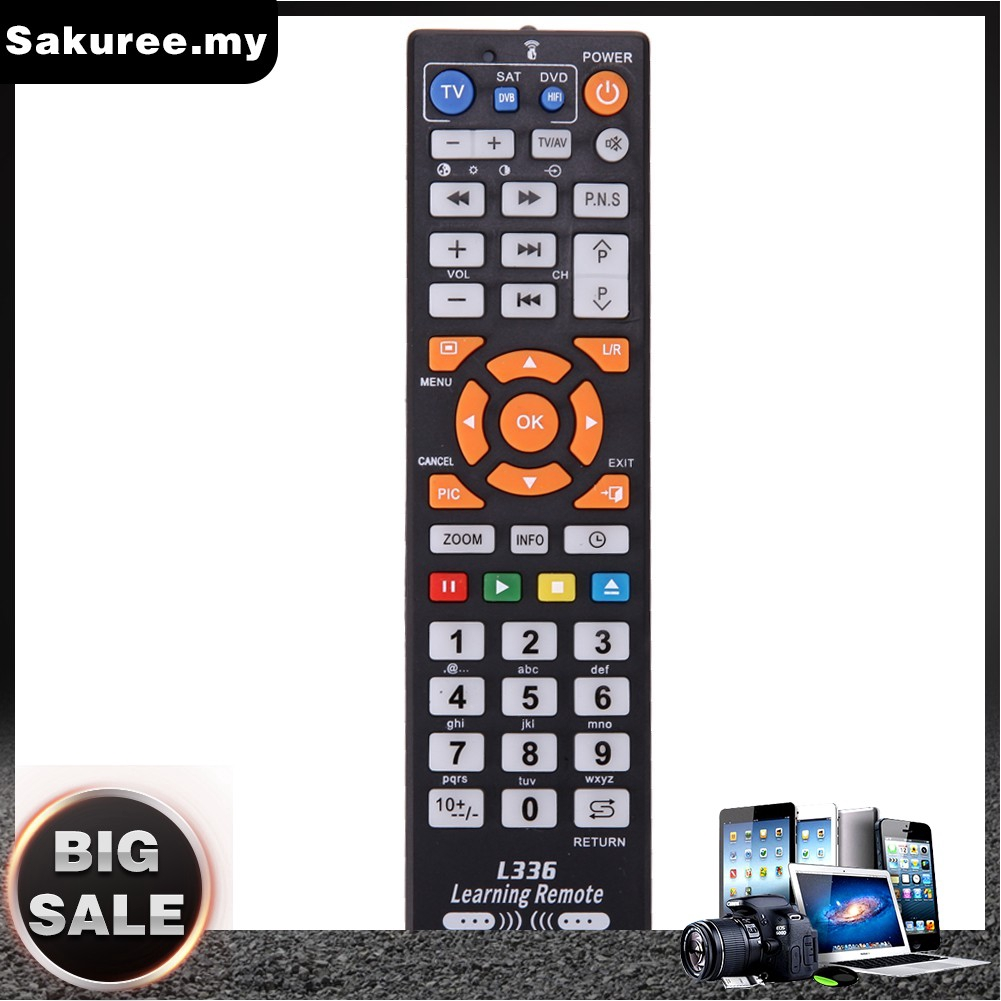Smart TV Remote Control Replacement TV Remote Controller With Learn Function For