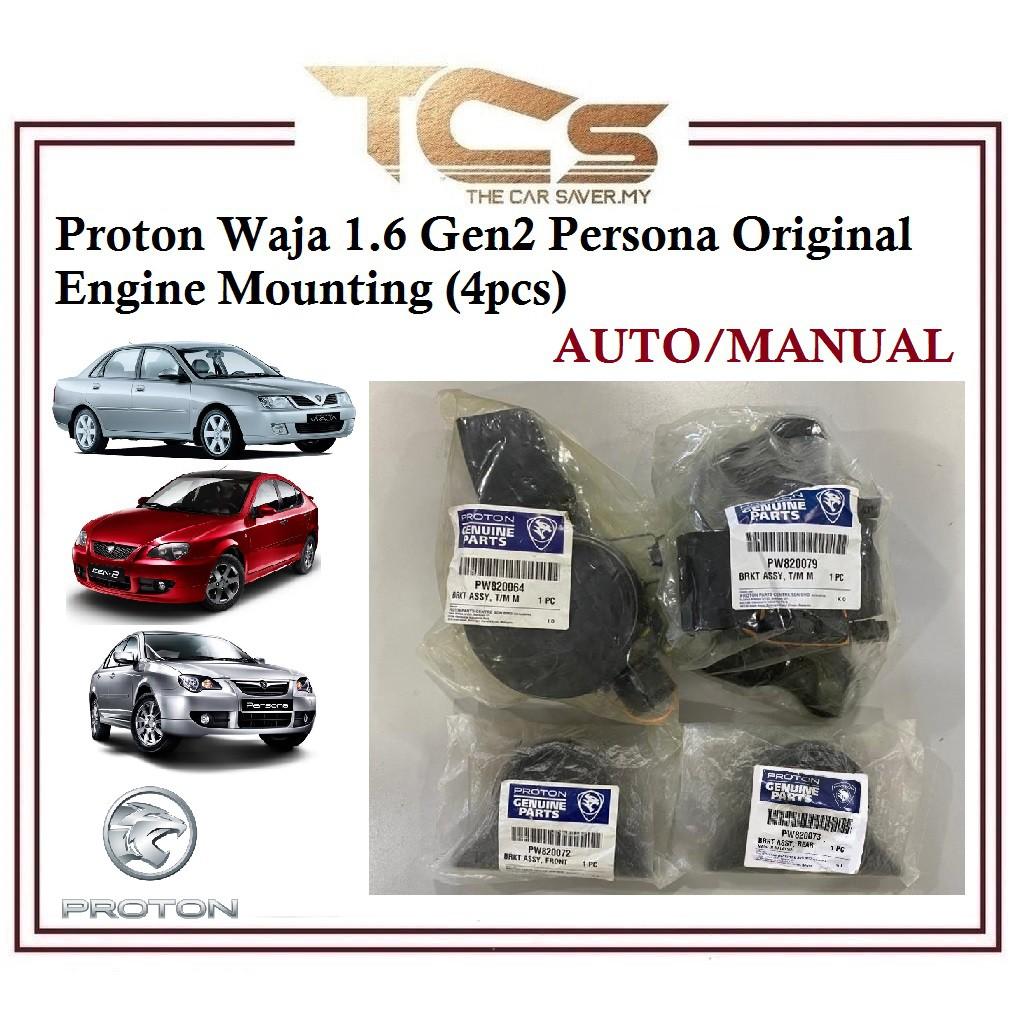 Proton  Waja 1.6 Gen2 Persona Original Engine Mounting (4pcs)Auto/Manual