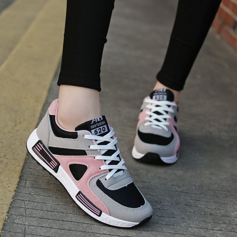Ready Stock Korean Sports Shoes Female Casual Shoes