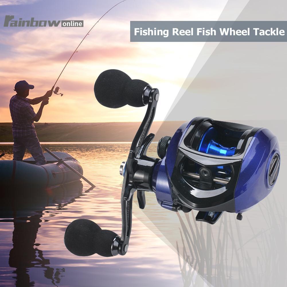 17+1BB High Speed Baitcasting Reel 7.2:1 Carp Bait Cast Casting Fishing Reels
