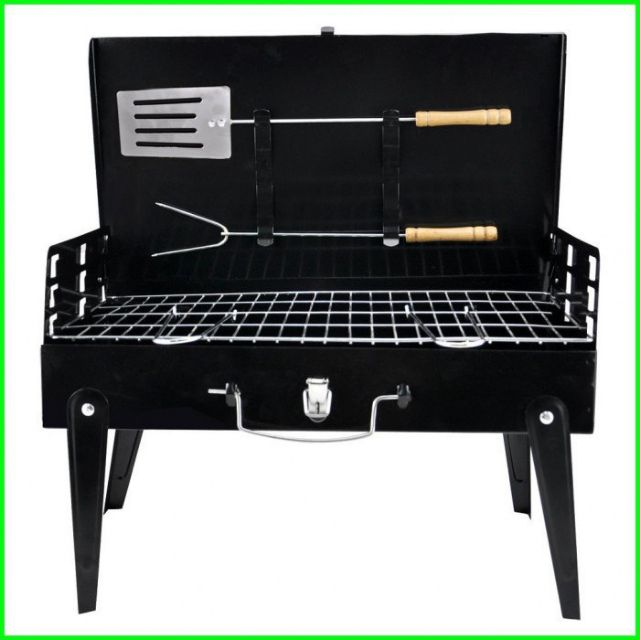 BBQ GRILL FOLDABLE ADJUSTABLE HEIGHT
