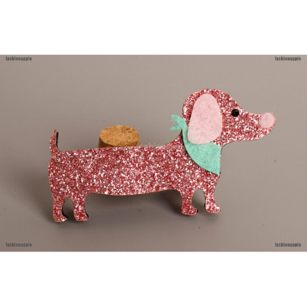 New Fashion Baby Hairpins Cute Cartoon Stereo Dog  kids Hair Clips Princess OF
