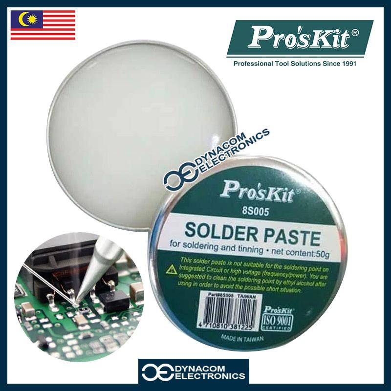 8S005 Professional 50g Acid-free Solder Flux Paste