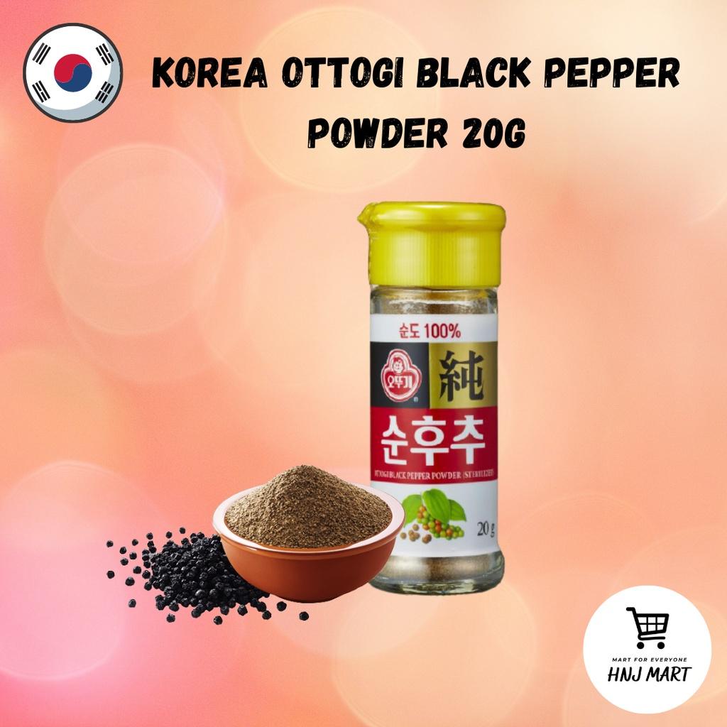 Korea Ottogi Black Pepper Powder 20g