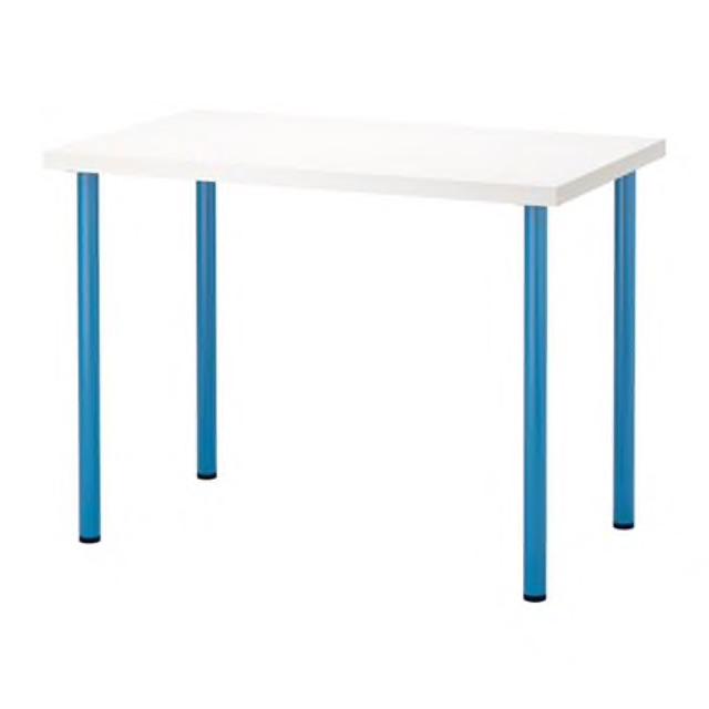 Ikea Linnmon Computer Study Table Meja Komputer Meja