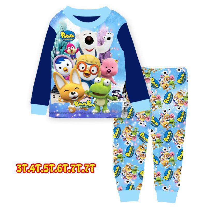 Cuddleme 3-7Y Pyjamas - Pororo Park