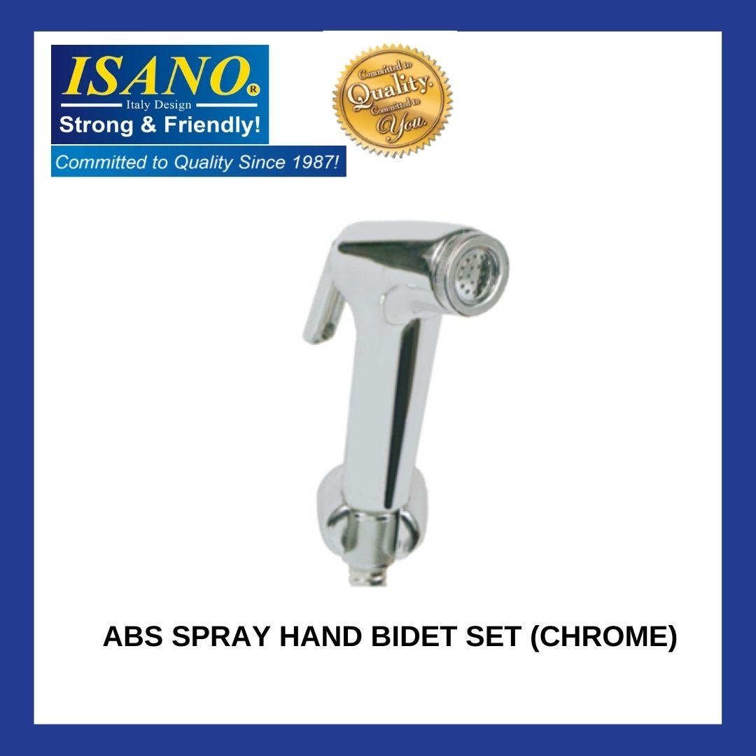 ISANO ABS Spray Hand Bidet SET [CHROME] [1710BC] SPRAY AIR