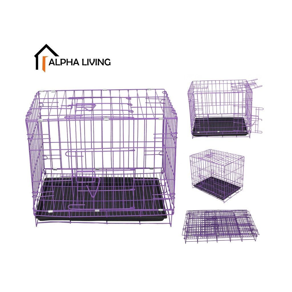 Pet with Toilet Folding Sunroof Cages PET0015