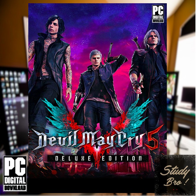 Devil May Cry 5 Deluxe Edition - PC OFFLINE Game [Digital Download] | PC  GAME