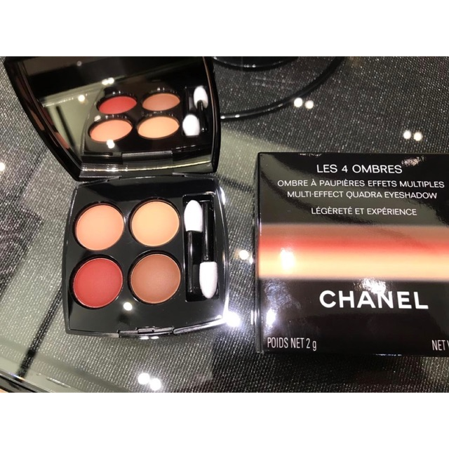 b87f9c789f Chanel Les 4 Ombres Multi Effect Quadra Eyeshadow #Legerete ET Experience