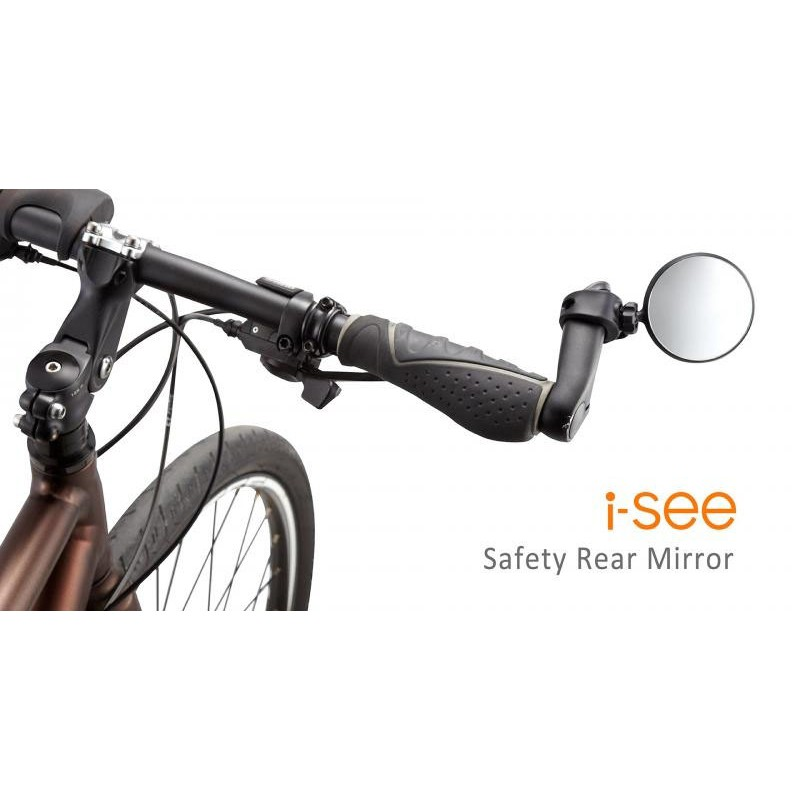 GUEE i-See MTB Mountain Road Bike Handlebar Strap Safety Rearview Mirror