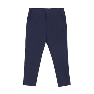 READ Signature Ultra-Stretch Ankle-Length Pants (Navy) | Shopee Malaysia